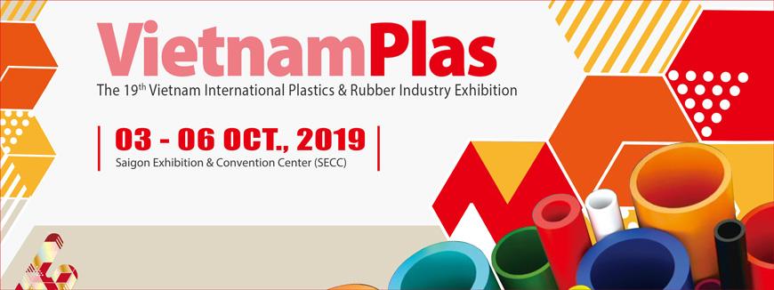 Triển lãm nhựa và cao su 2019