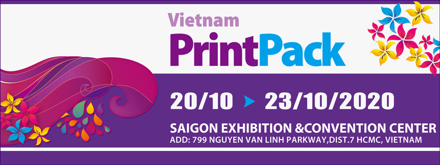 Triển lãm Công nghiệp In ấn & Bao bì Việt Nam 2020
