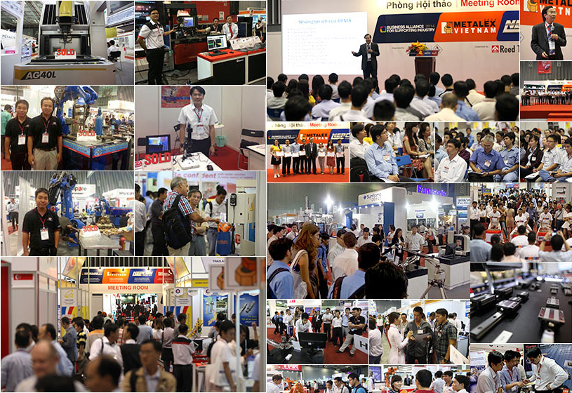 METALEX VIETNAM 2016 - Vietnam's International Exhibition on Machine Tools & Metalworking Solutions for Production Upgrade