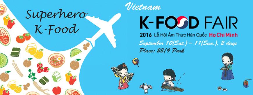 Lễ hội - Hội chợ Thực phẩm Hàn Quốc K-Food Fair 2016