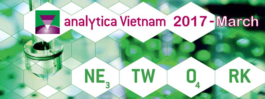 Analytica Việt Nam - Triển lãm Quốc tế về Công nghệ thí nghiệm, Phân tích, Công nghệ Sinh học và Chẩn đoán